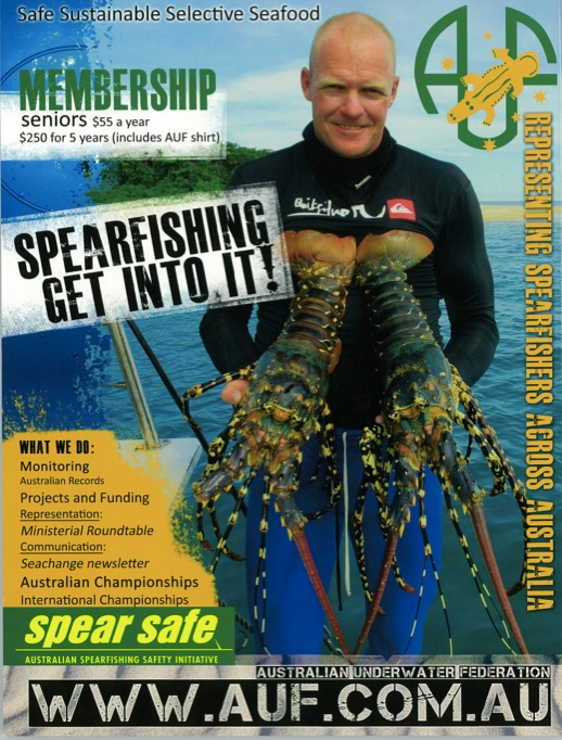 Spearfishing — Australian Underwater Federation